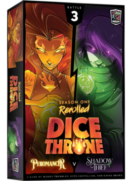 Dice Throne: Season 1 Rerolled - Pyromancer vs. Shadow Thief