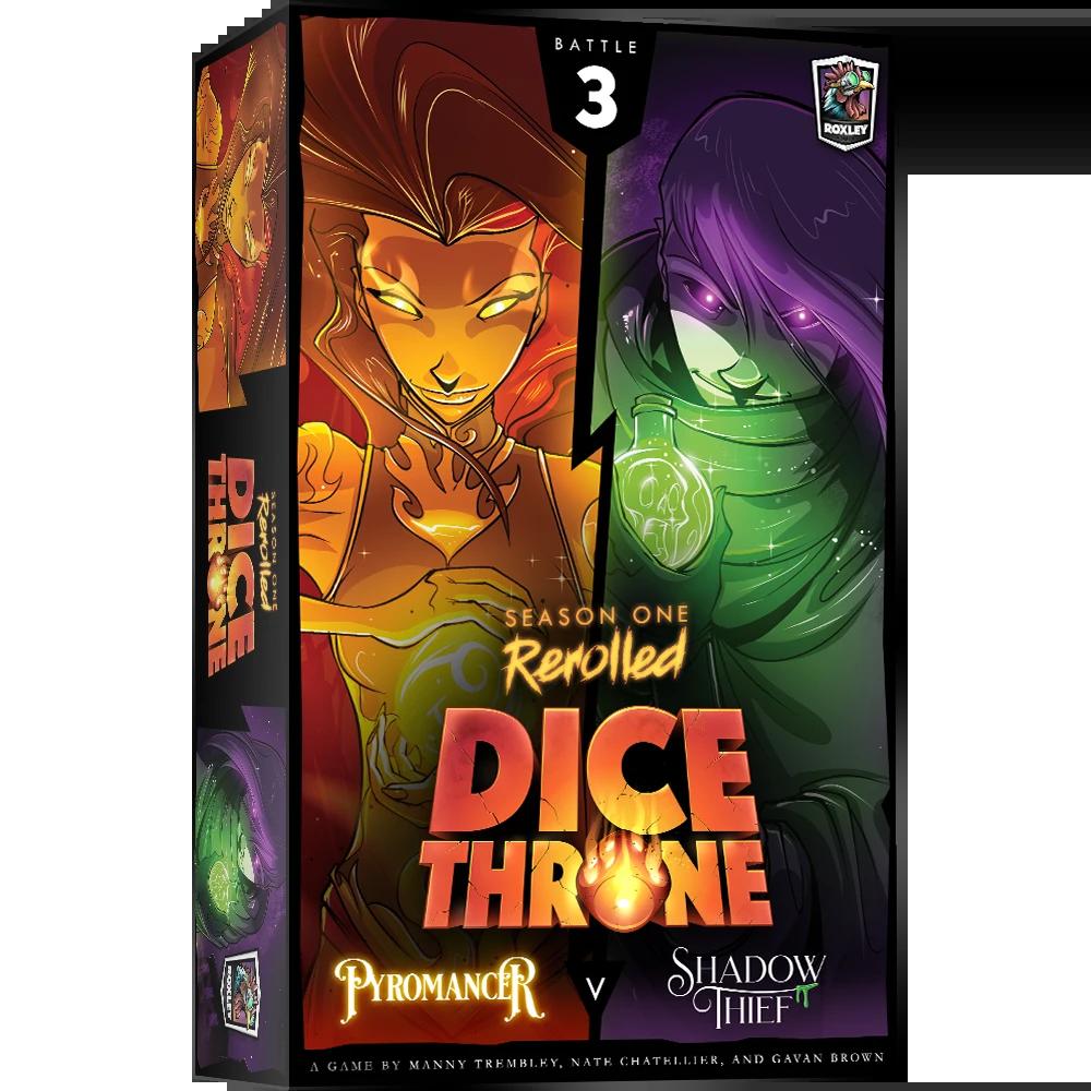 Dice Throne: Season 1 Rerolled - Pyromancer vs. Shadow Thief