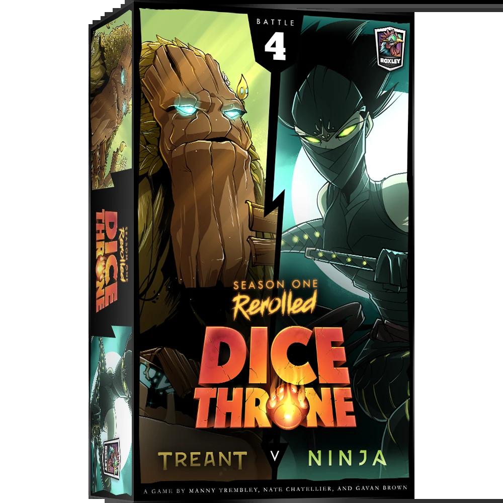Dice Throne: Season 1 Rerolled - Treant vs. Ninja