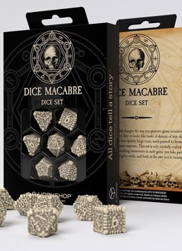 Dice Macabre RPG Dice Set