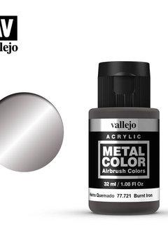 Vallejo Metal Color: Burnt Iron (Air 32ml)