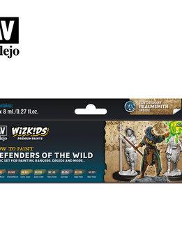 Wizkids Premium Paints: Defenders of the Wild (Set of 8)