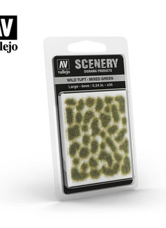 Scenery: Wild Tuft - Mixed Green (Large)