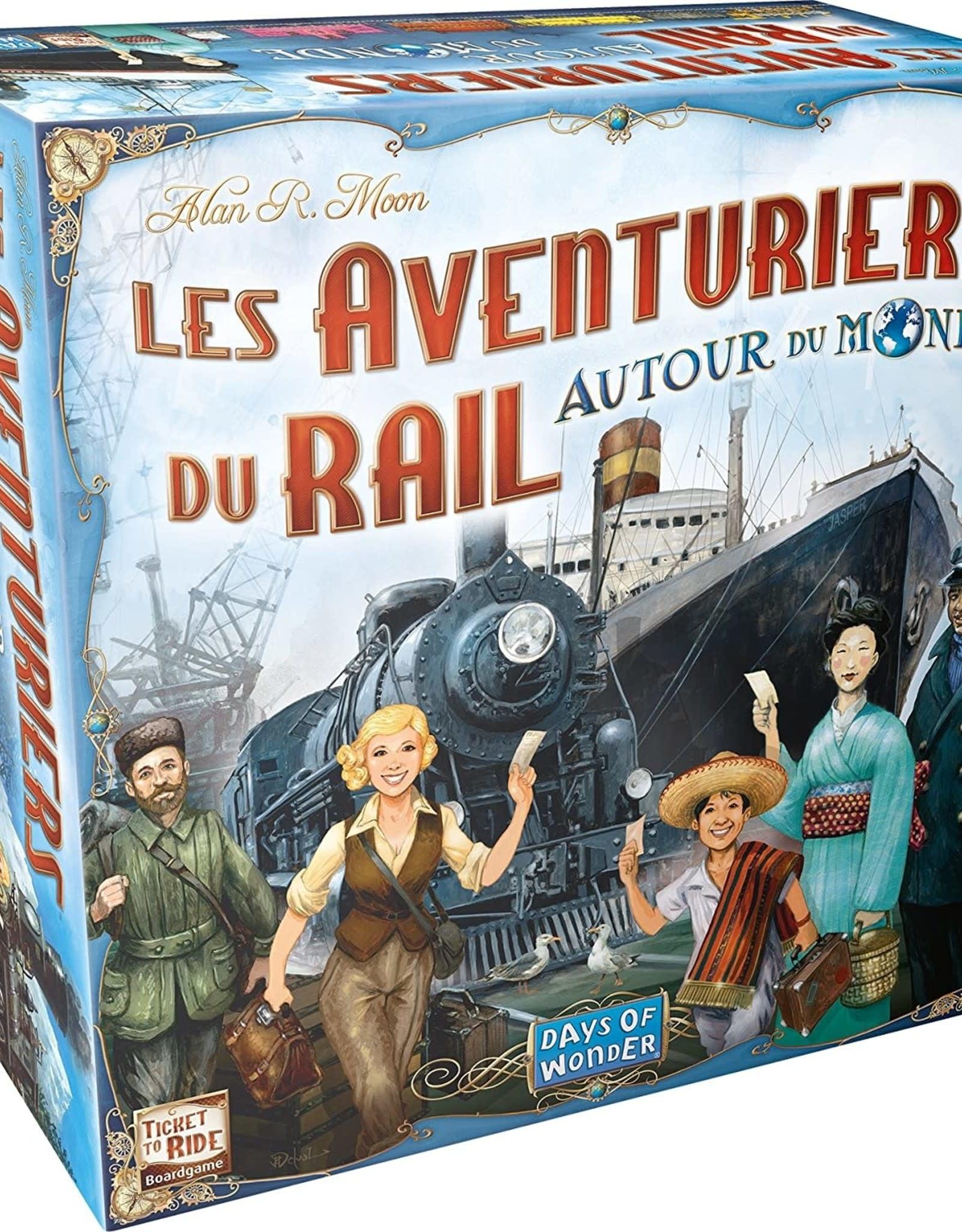 Aventuriers du Rail: Autour du Monde