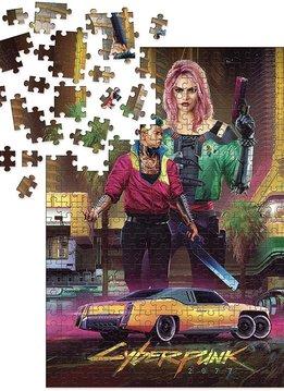 Puzzle: Cyberpunk 2077 - Kitsch (1000pcs)