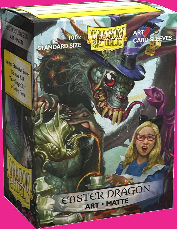 Easter Dragon 2021 - Dragon Shield Sleeves Ltd. Ed. Matte Art 100ct