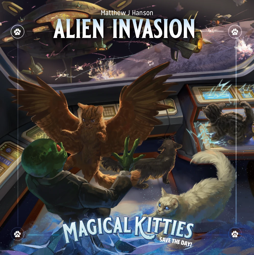 Magical Kitties Save the Day: Alien Invasion (SC)