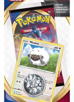 Pokemon Sword & Shield: 1 Booster Blister (Incl. 1 Promo Card, 1 Code Card & 1 Collectible Coin)