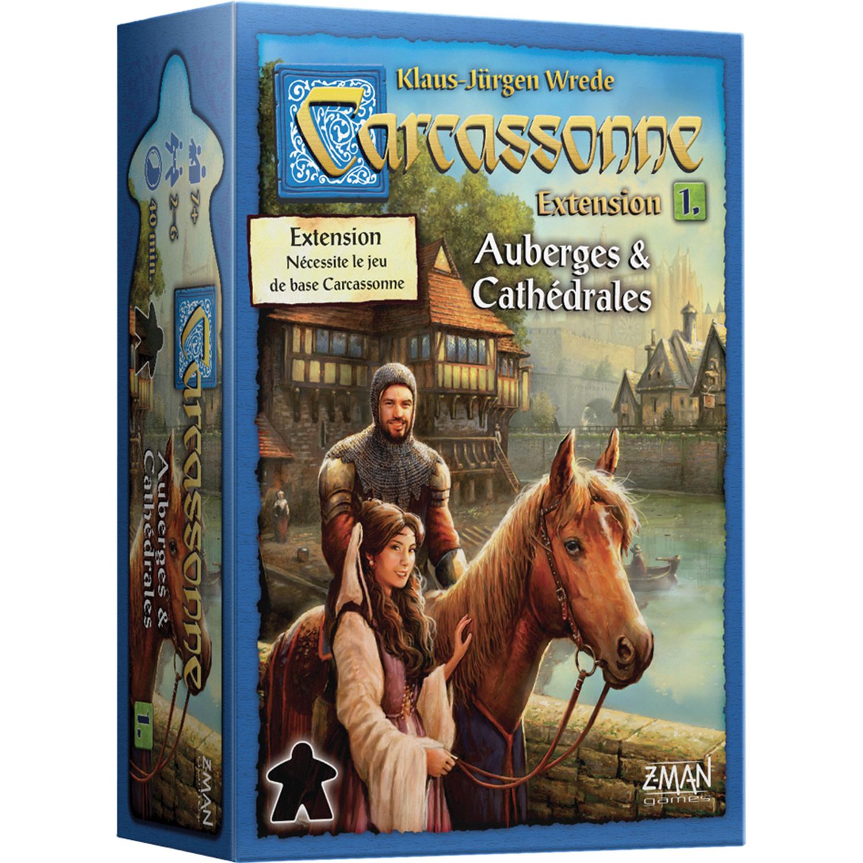 Carcassonne: Ext. 1 Auberges & Cathédrales