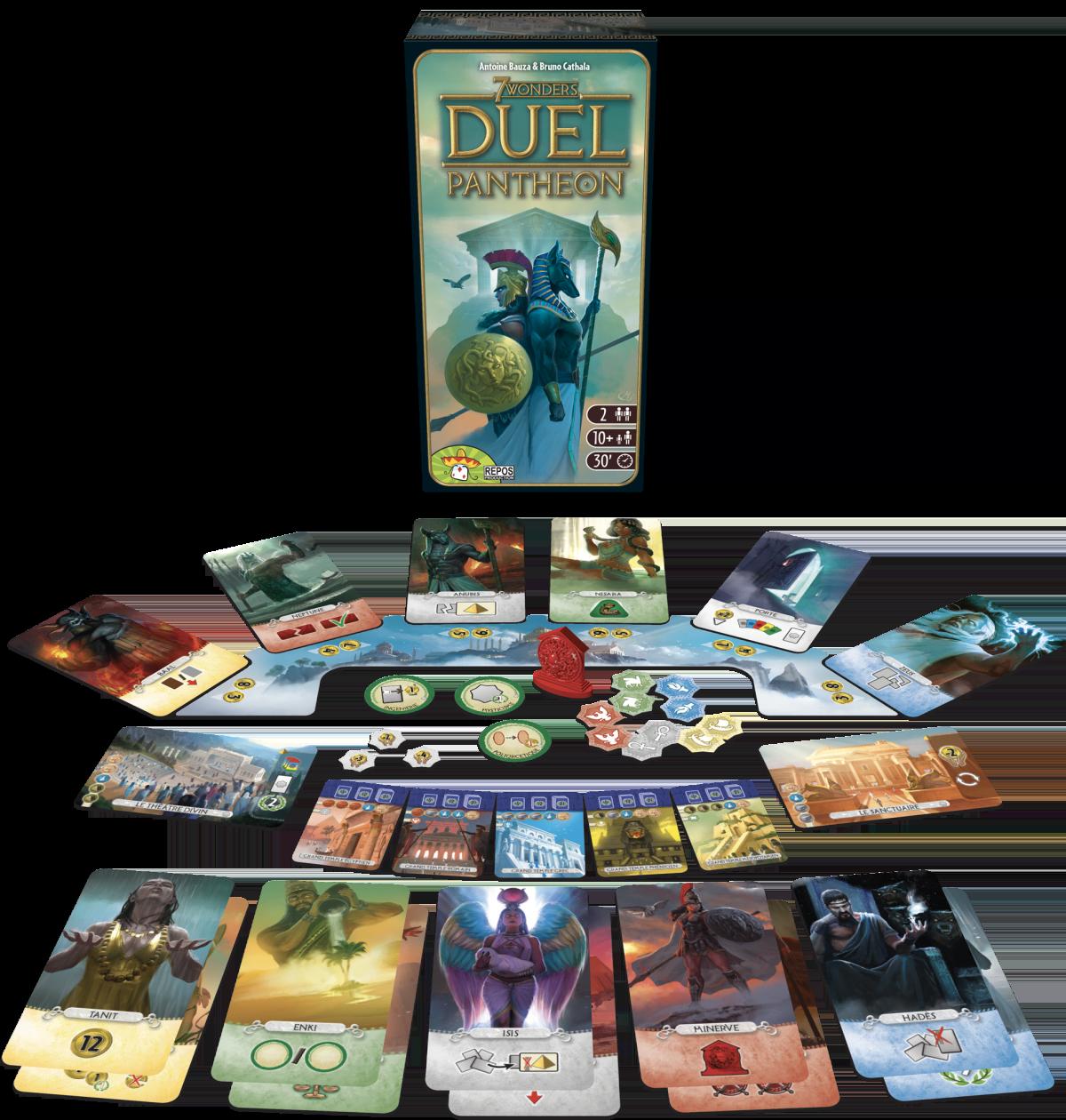 7 Wonders Duel: Pantheon (EN)