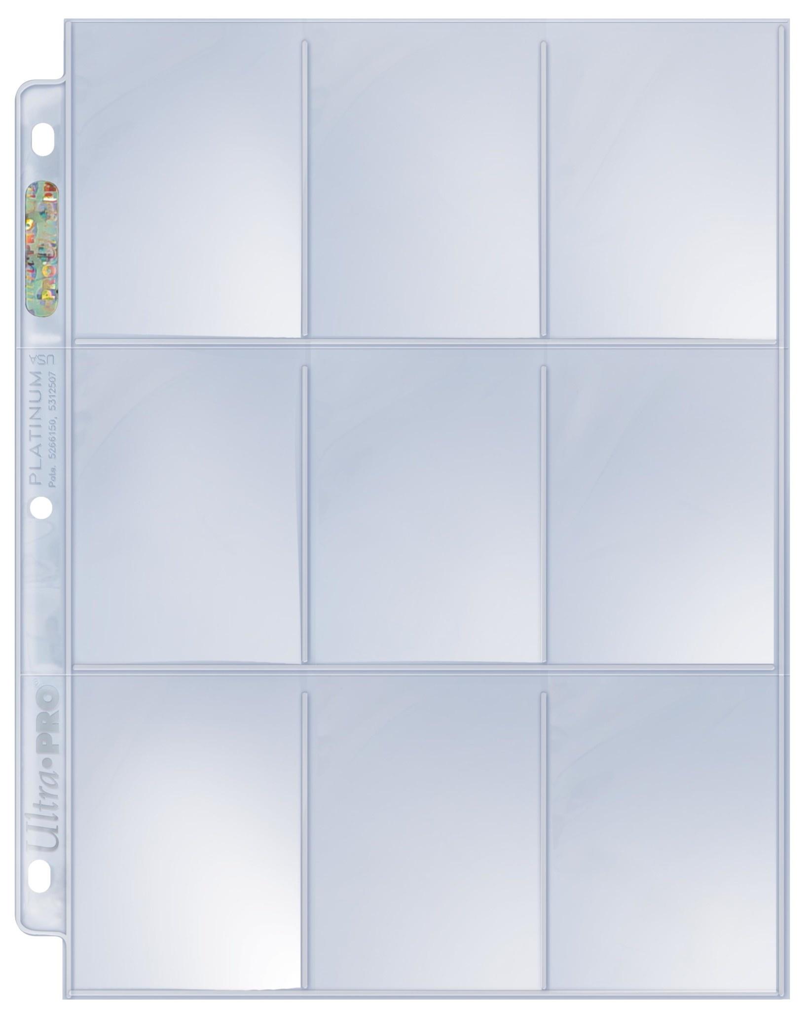 UP 9-Pocket Platinum Page