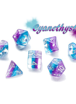 Eclipse Dice: Cyanethyst