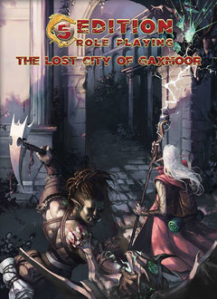 5th Edition Adventure: The Lost City of Gaxmoor (HC)