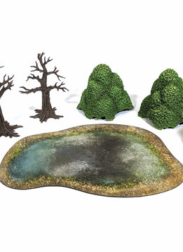 Monster Scenery: Verdant Forest