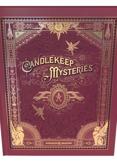 Dungeons & Dragons 5E: Candlekeep Mysteries (Alt. Cover) (HC)