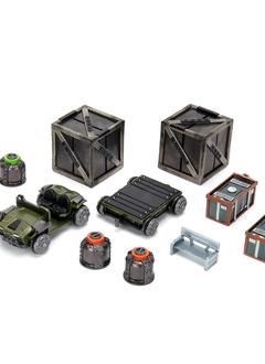 Starfinder Battles: Planets of Peril - Docking Bay Premium Set