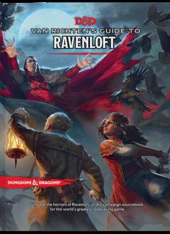Dungeons & Dragons 5E: Van Richten's Guide to Ravenloft (HC)