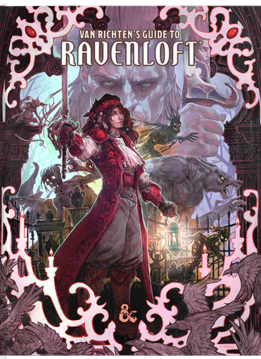 Dungeons & Dragons 5E: Van Richten's Guide to Ravenloft (HC) (Alt Cover)