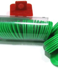 Mini Poker Chip Tube - Green (50)