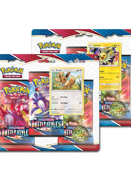 Pokémon Battle Styles - 3-Pack Blister