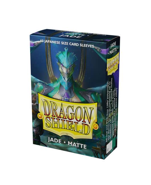 Dragon Shield Jade Japanese Size Matte Sleeves (60)