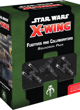 X-Wing 2nd Ed: Fugitives and Collaborators Squadron Pack