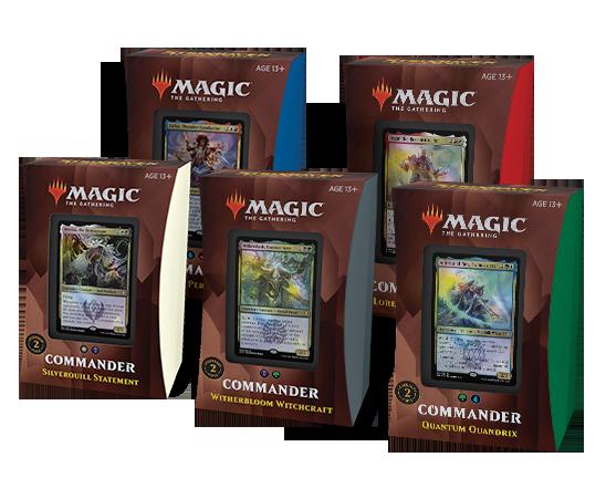 Strixhaven - Commander Decks (Set of 5)
