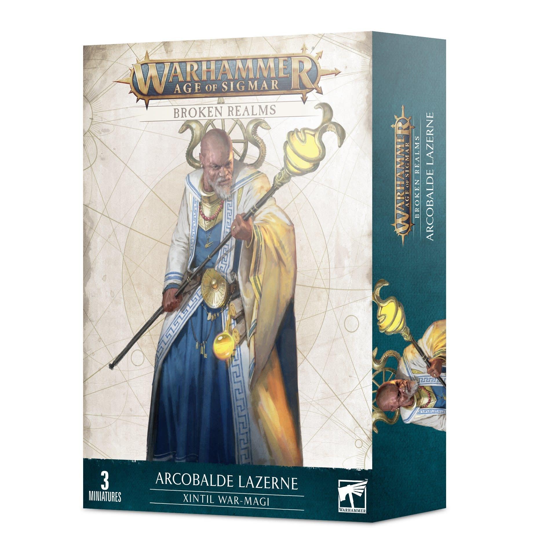 Broken Realms: Arcobalde Lazerne, Xintil War-Magi