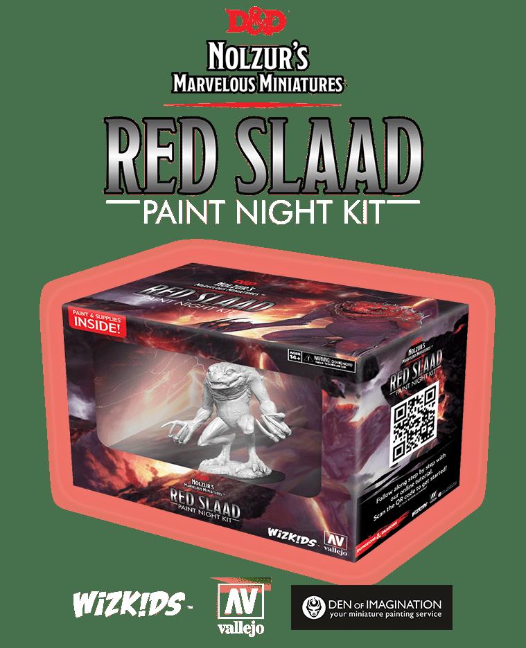 D&D Paint Night Kit: Red Slaad