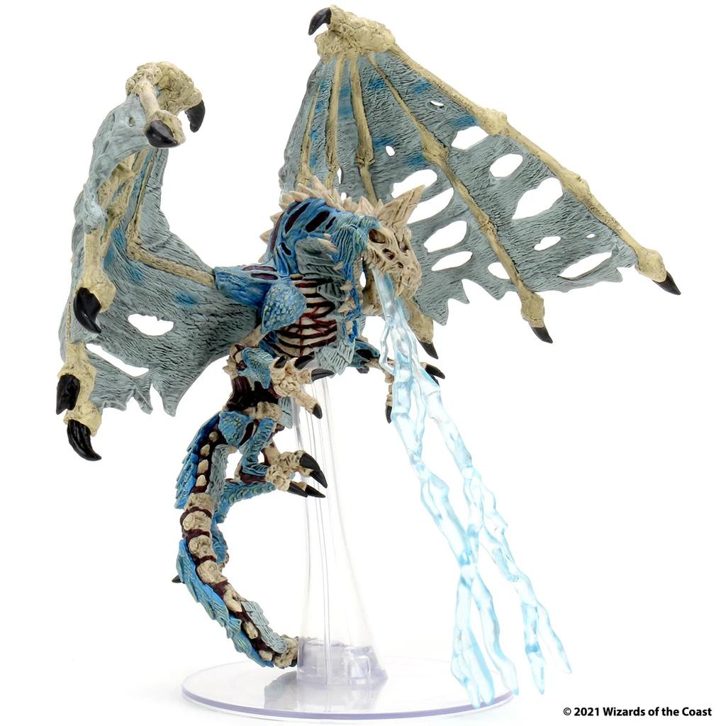 D&D Icons 18: Boneyard - Blue Dracolich Premium Set