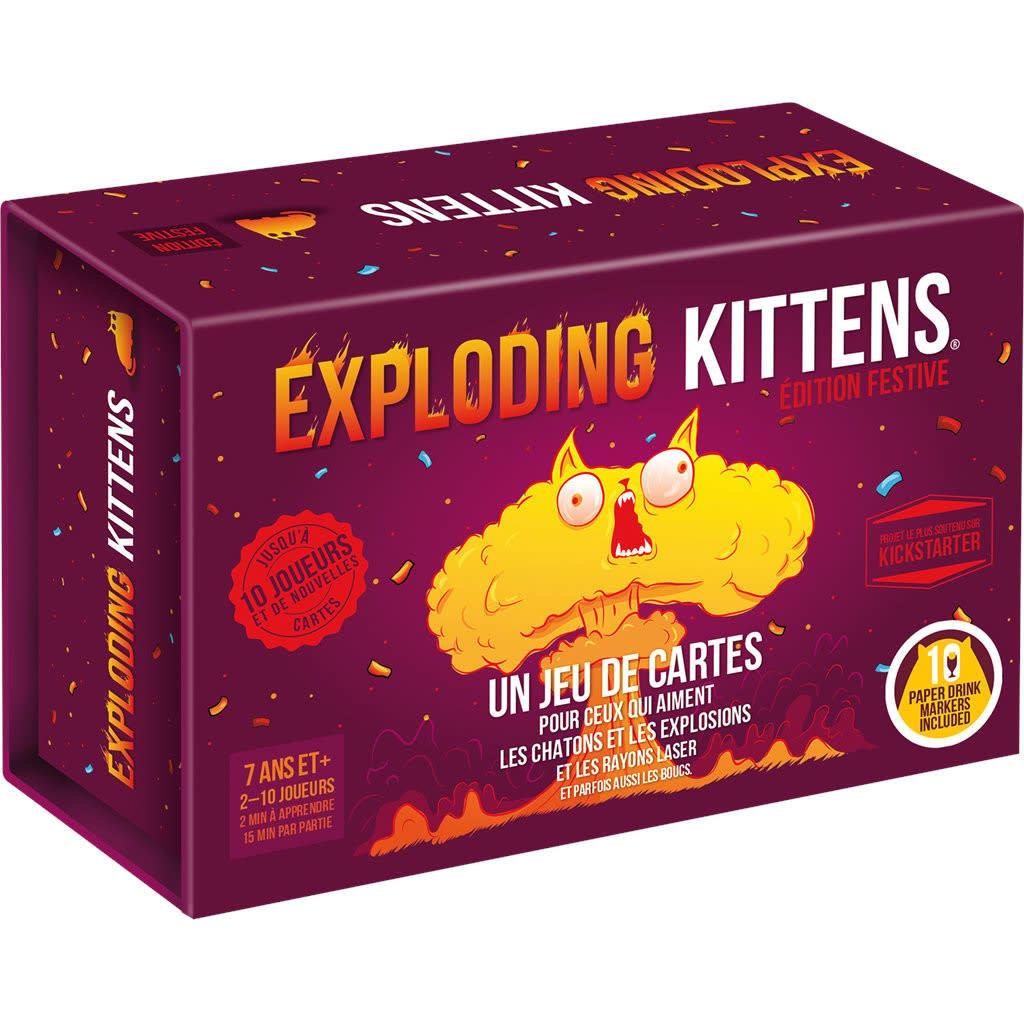 Exploding Kittens - Édition Festive (FR)