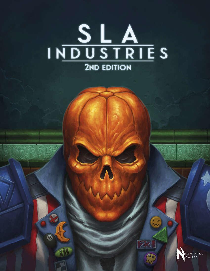 SLA Industries RPG 2nd Edition