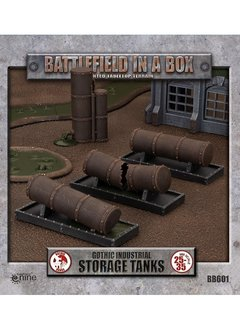 Battlefield in a Box: Gothic Industrial Storage Tanks