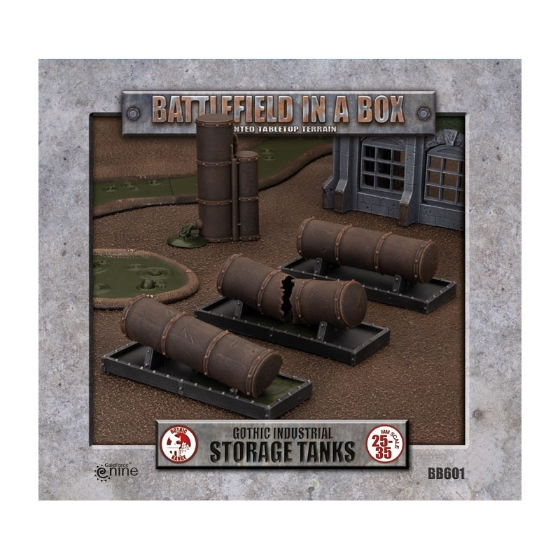 Battlefield in a Box: Gothic Industrial Storage Tanks