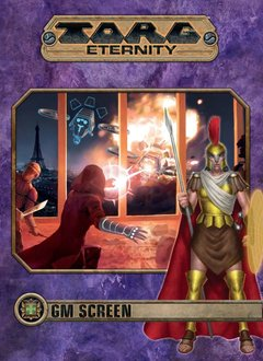 Torg Eternity: Cyberpapacy GM Screen and Archetype