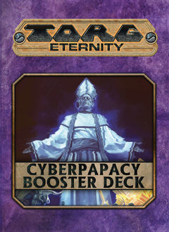 Torg Eternity: Cyberpapacy Booster Deck