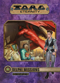 Torg Eternity: Delphi Missions - Cyberpapacy (HC)