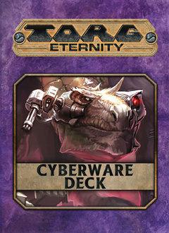 Torg Eternity: Cyberpapacy Cyberware Deck