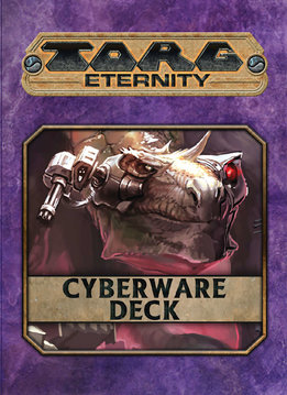 Torg Eternity: Cyberpapacy Cyberware Deck