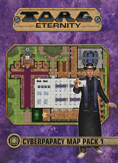 Torg Eternity: Cyberpapacy Map Pack 1