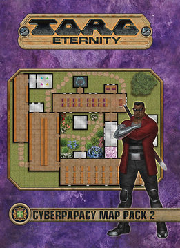 Torg Eternity: Cyberpapacy Map Pack 2