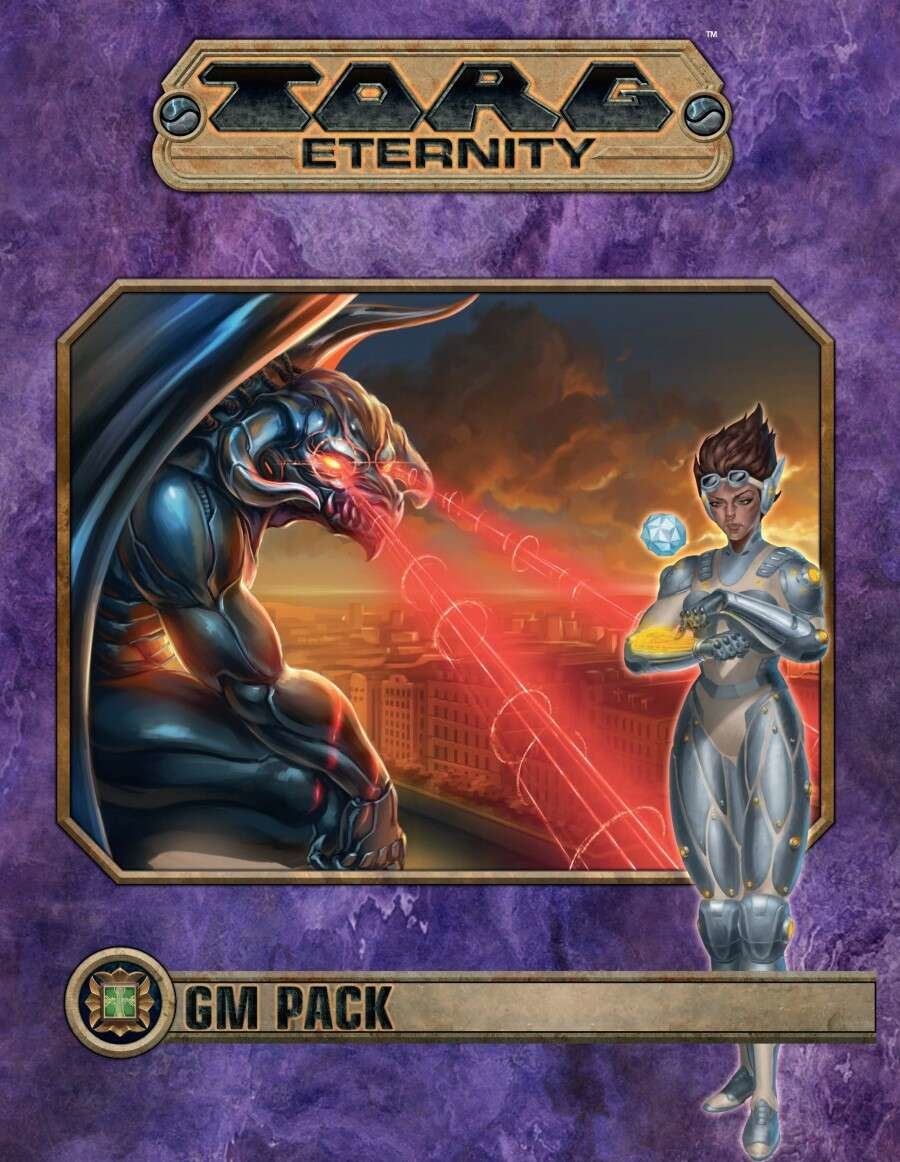 Torg Eternity: Cyberpapacy GM Pack