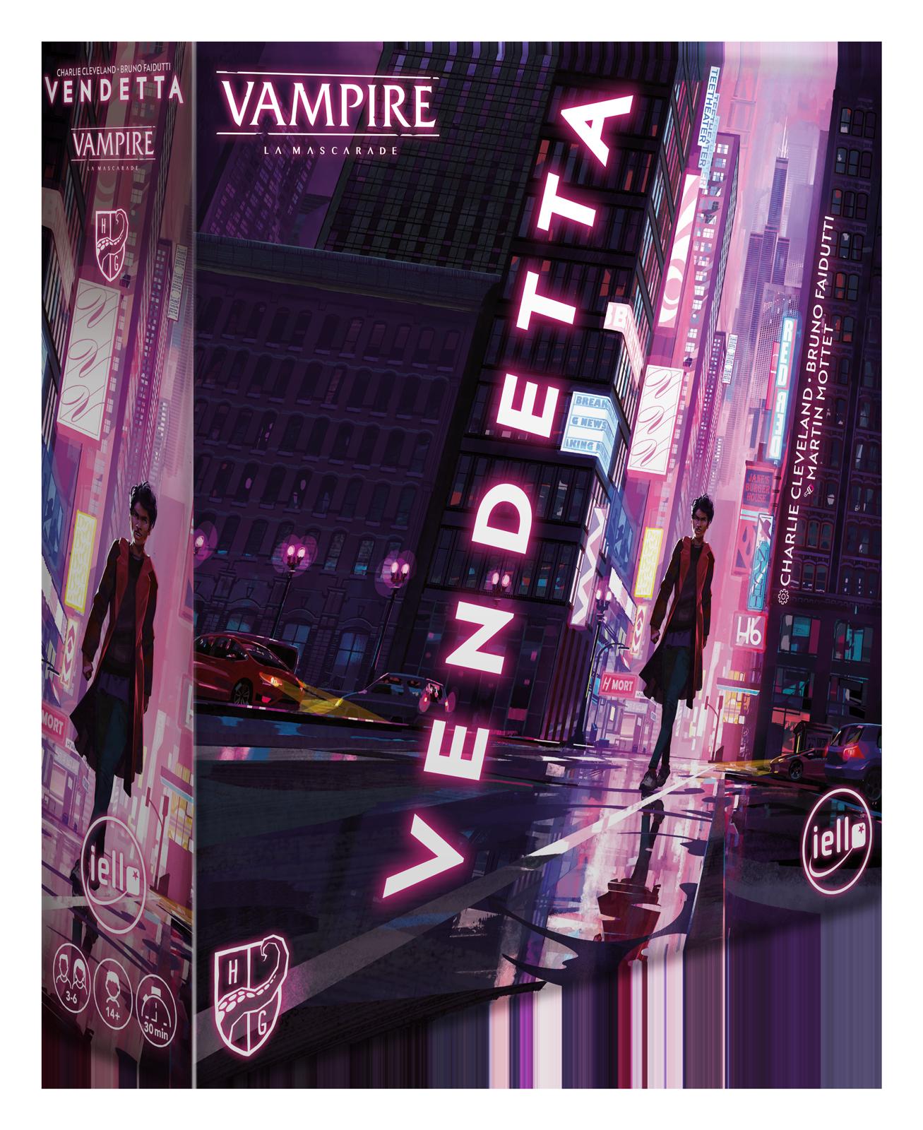 Vendetta - Vampire: La Mascarade (FR)