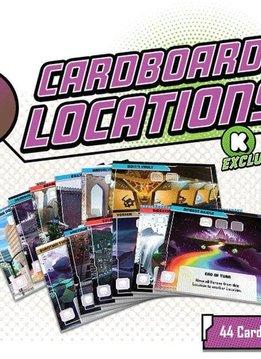 Marvel United KS Cardboard Locations