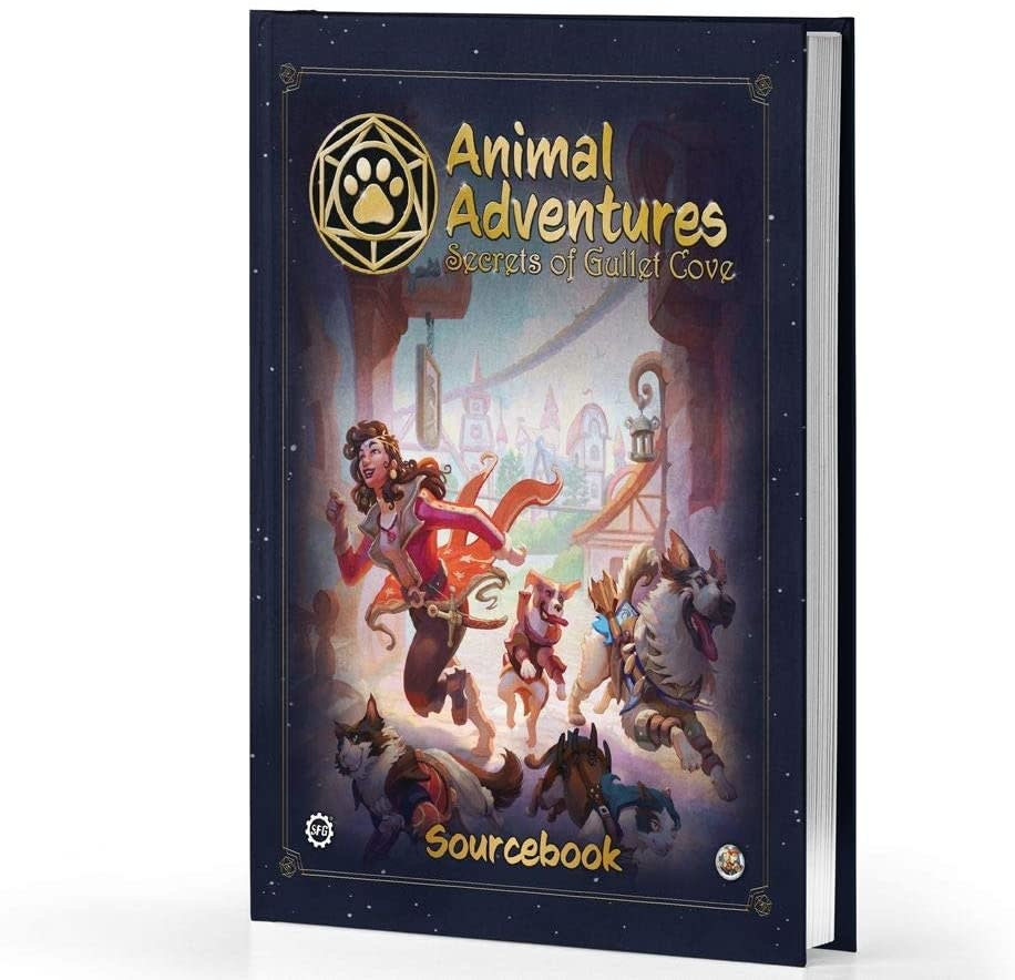 Animal Adventures: The Secrets of Gullet Cove (Sourcebook) (HC)