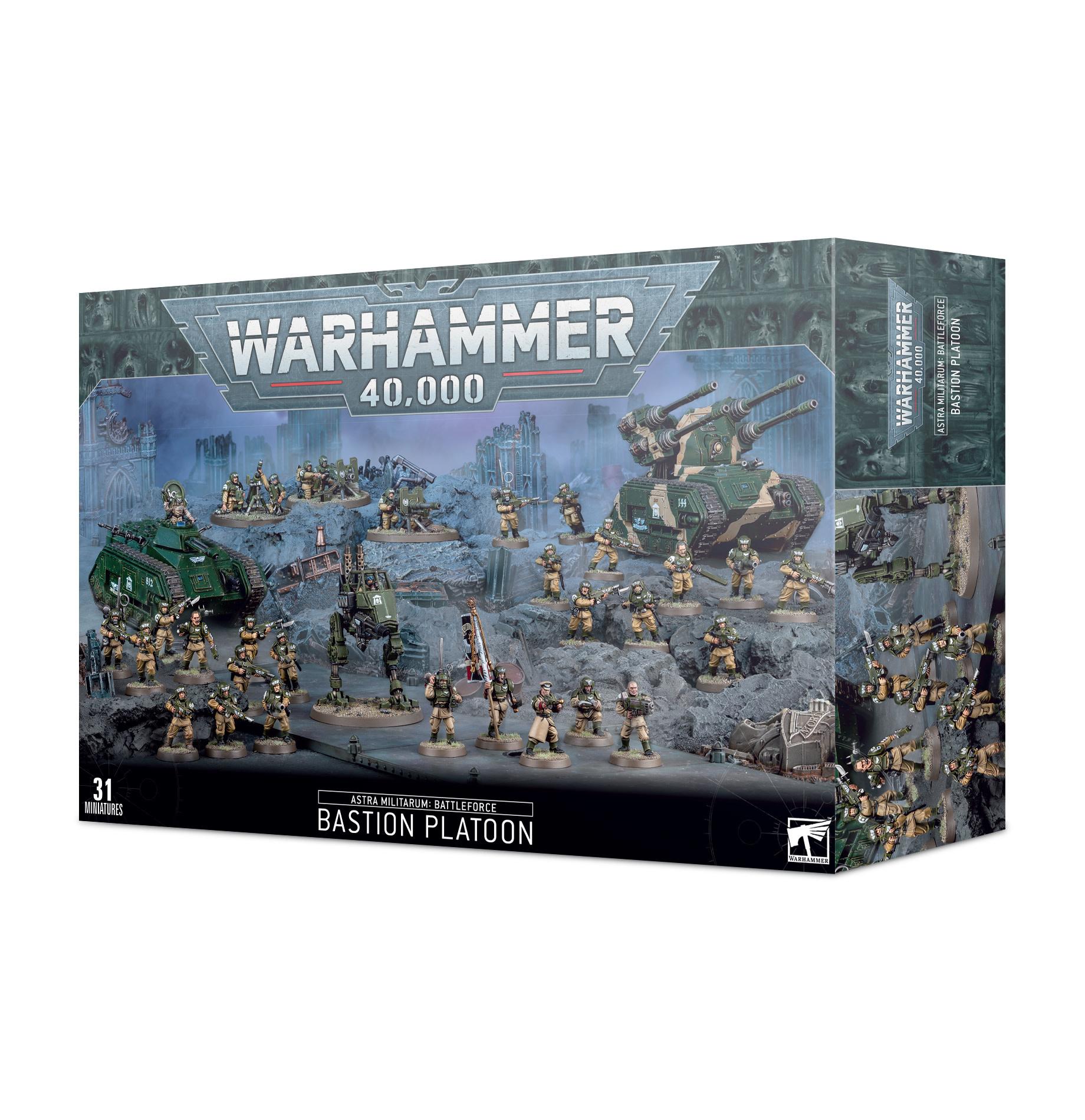 Battleforce: Astra Militarum – Bastion Platoon
