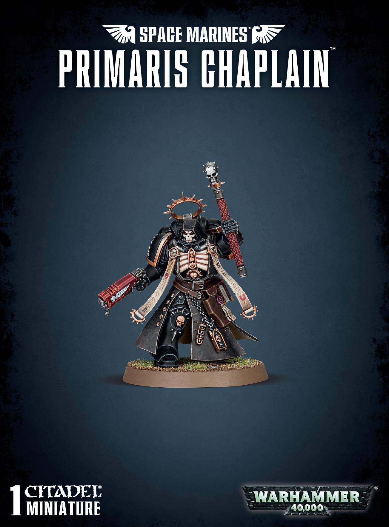 Space Marines Primaris Chaplain