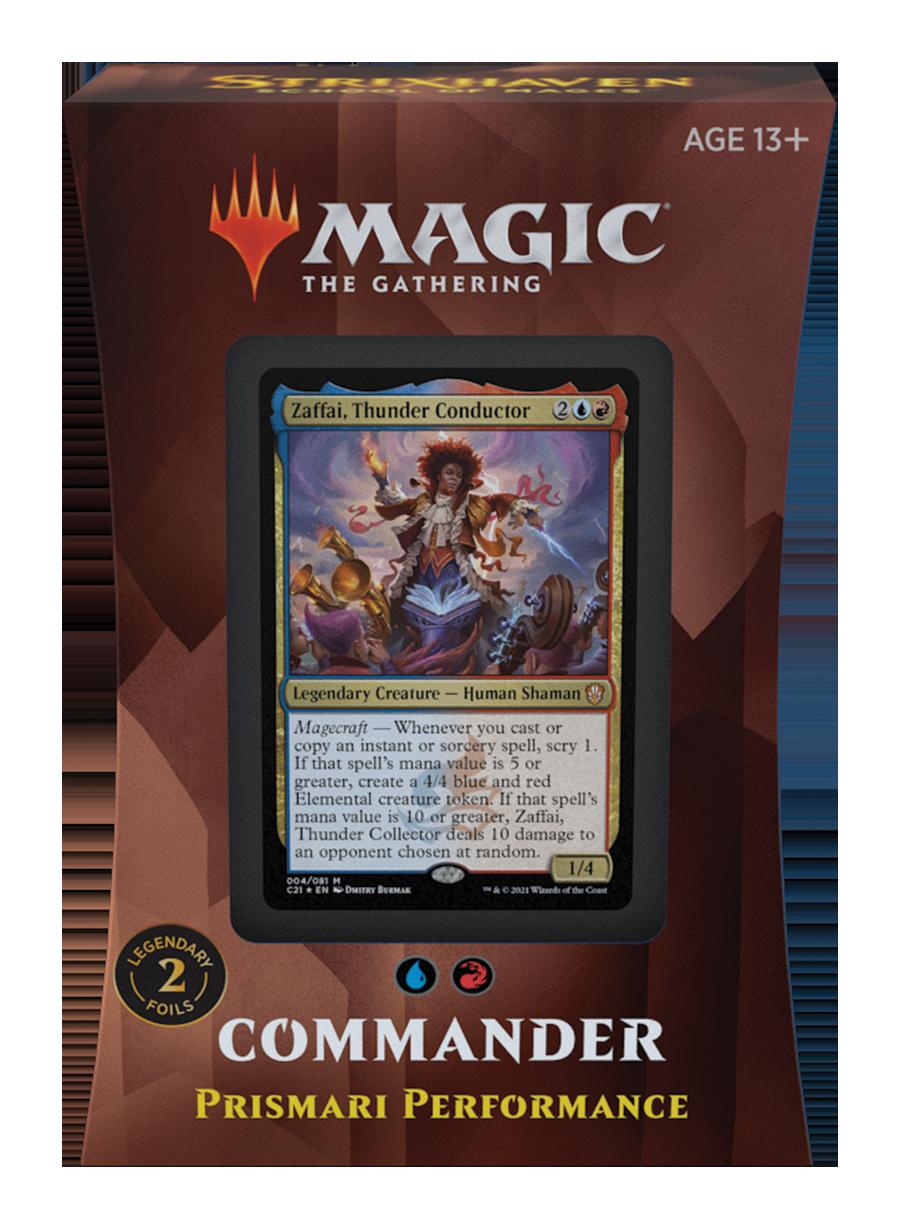 MTG Strixhaven Commander Decks 2021