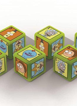 Rick & Morty 6pc Dice Set