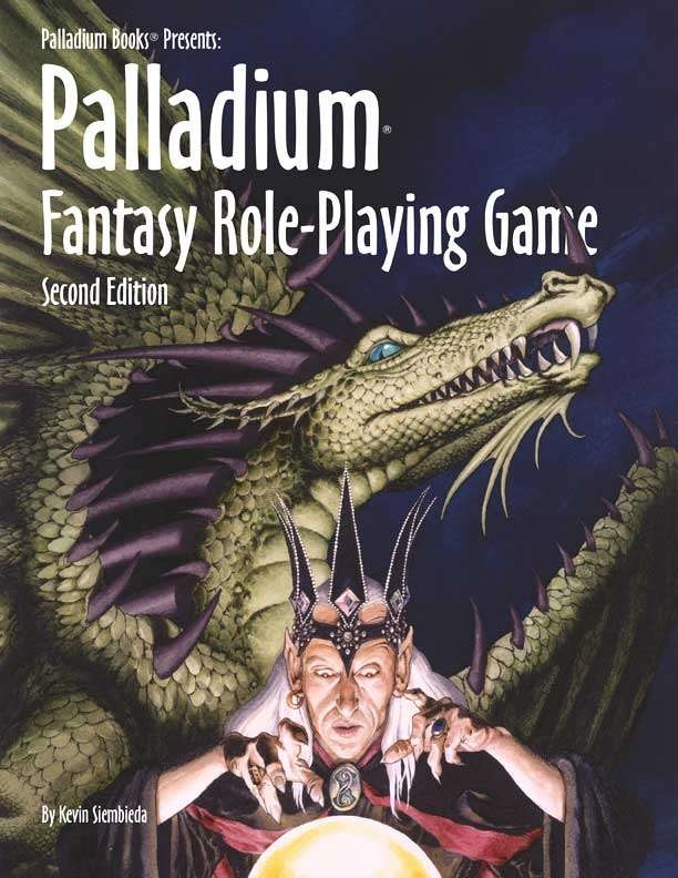 Palladium Fantasy RPG 2nd Edition (HC)